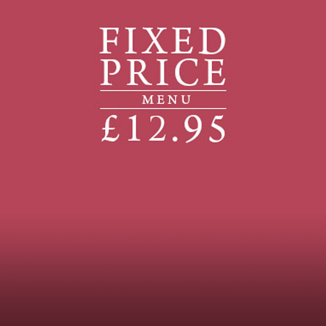 Fixed Price Menu at The White Hart